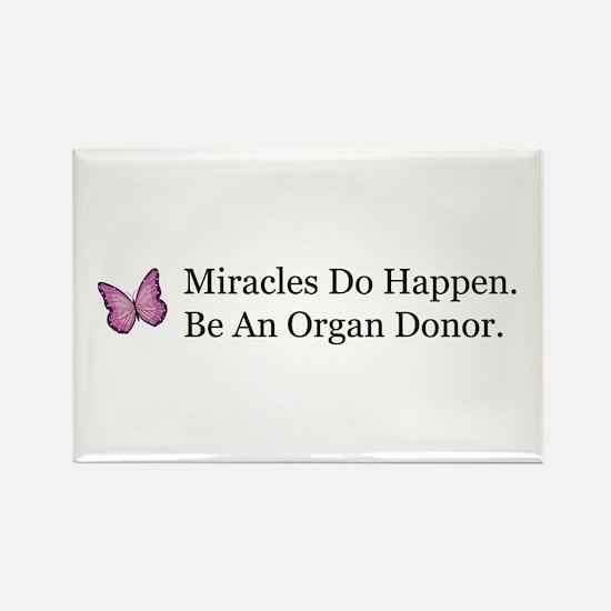 Organ Donation Awareness Rectangle Magnet
