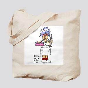 Nurse Hurt Tote Bag