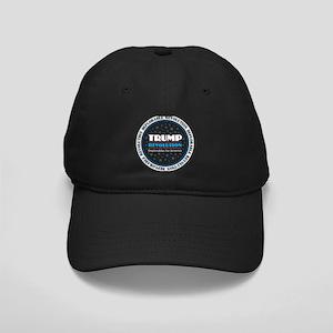Trump Revolution Deplorables Black Cap with Patch