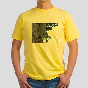 Treetop Squirrel Yellow T-Shirt