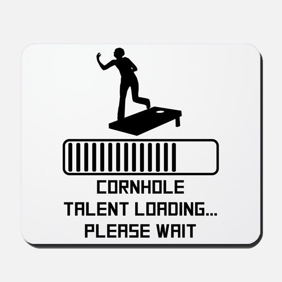 Cornhole Talent Loading Mousepad