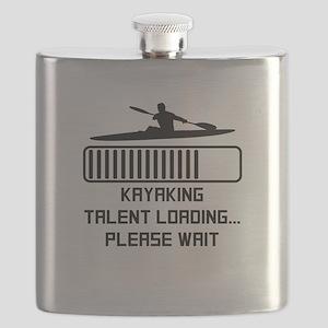 Kayaking Talent Loading Flask