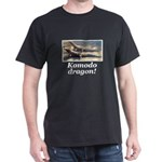 Komodo dragon photo Black T-Shirt