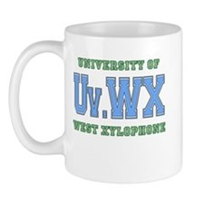 University of West Xylophone Mug