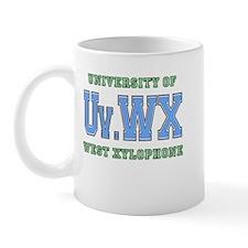 University of West Xylophone Mug