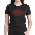 Death F'ing Metal Women's Dark T-Shirt
