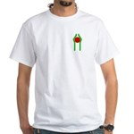 Intactness logo pocket White T-Shirt