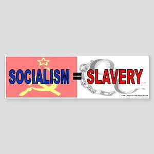 Socialism is slavery (sticker)