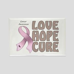 Cancer Awareness Rectangle Magnet