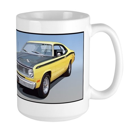 71Duster340-bev Mugs