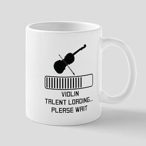 Violin Talent Loading Mugs
