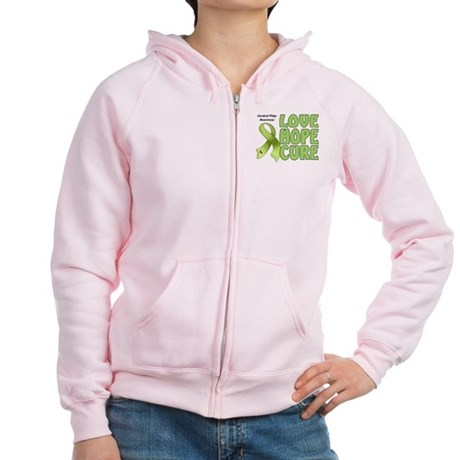 Cerebral Palsy Awareness Women's Zip Hoodie