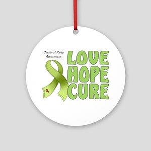 Cerebral Palsy Awareness Ornament (Round)