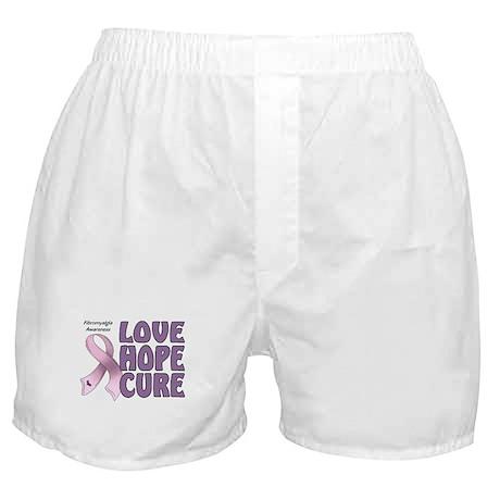 Fibromyalgia Awareness Boxer Shorts