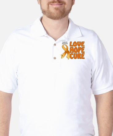 Leukemia Awareness Golf Shirt
