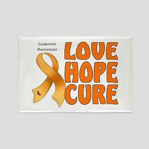 Leukemia Awareness Rectangle Magnet
