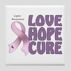 Lupus Awareness Tile Coaster