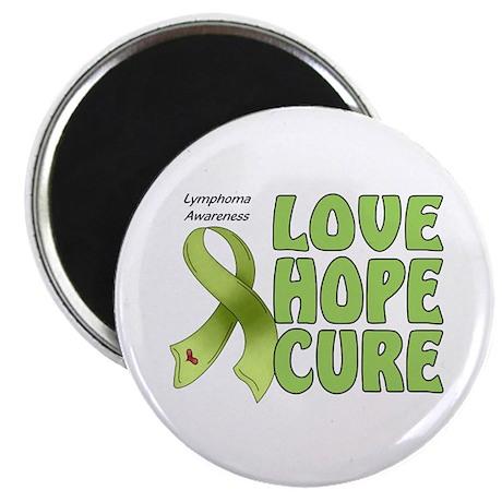 "Lymphoma Awareness 2.25"" Magnet (100 pack)"