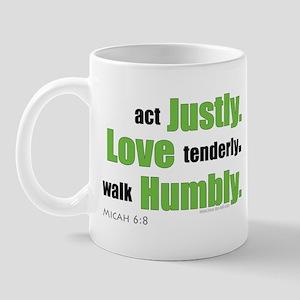 Micah 6:8 Walk Humbly with yo Mug