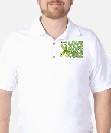 Mental Health Awareness Golf Shirt