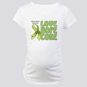 Mental Health Awareness Maternity T-Shirt