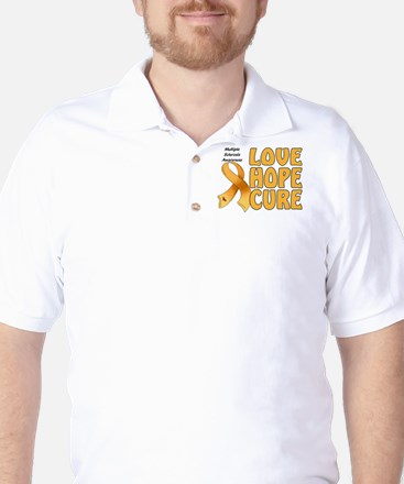 Multiple Sclerosis Awareness Golf Shirt