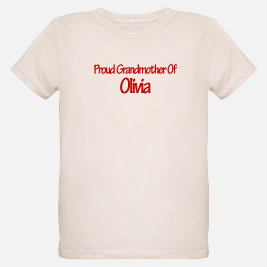 Proud Grandmother of Olivia T-Shirt