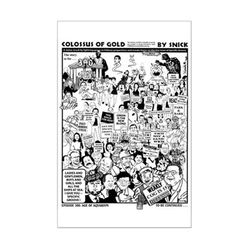 Colossus of Gold 300 Mini Poster Print
