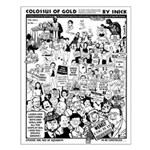 Colossus of Gold 300 Small Poster