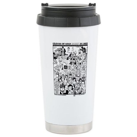 Colossus of Gold 300 Stainless Steel Travel Mug