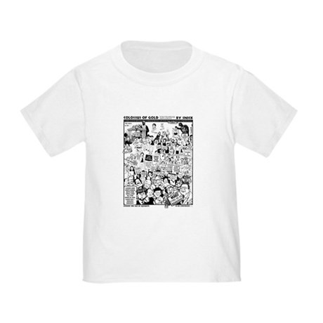 Colossus of Gold 300 Toddler T-Shirt