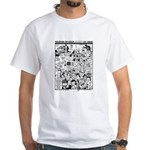 Colossus of Gold 300 White T-Shirt