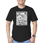 Colossus of Gold 300 Men's Fitted T-Shirt (dark)