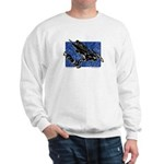 Gravity Sledder Blue Sweatshirt
