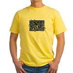 Gravity Sledder Blue Yellow T-Shirt