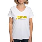 Invasion Of The Women's V-Neck T-Shirt