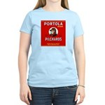 Portola Sardines Head Design Women's Light T-Shirt