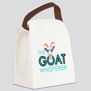 The Goat Whisperer Hipster Goat by GetYerGoat Canv