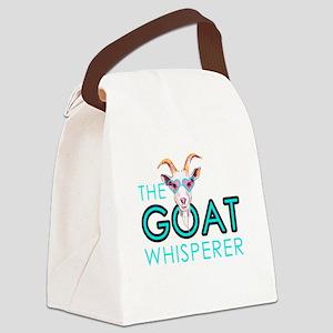 The Goat Whisperer Hipster Goat by GetYerGoat Canv
