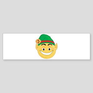ELF SMILEY! Bumper Sticker