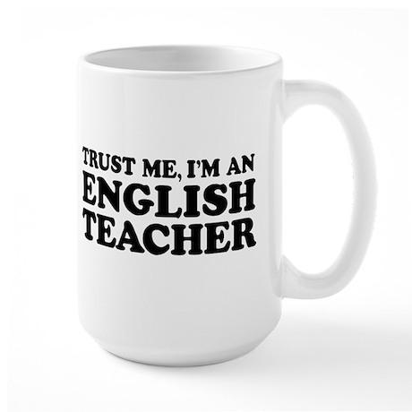 English Teacher Large Mug