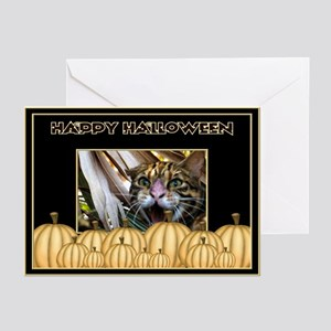 Bengal Cat Halloween Greeting Cards (Pk of 10)