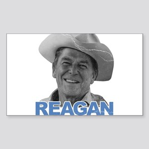 Reagan 1980 Election Rectangle Sticker