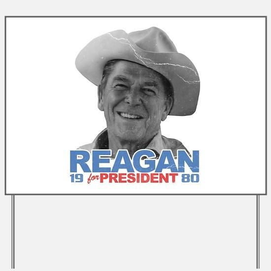 Reagan 1980 Election Yard Sign