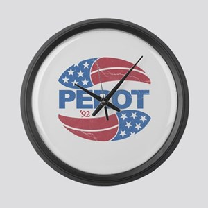 Ross Perot 92 Election Large Wall Clock