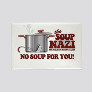 Soup Nazi No Soup Rectangle Magnet
