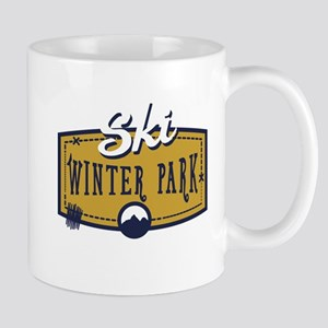 Ski Winter Park Patch Mug