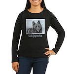 Schipperke Women's Long Sleeve Dark T-Shirt