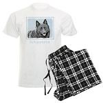 Schipperke Men's Light Pajamas