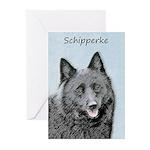 Schipperke Greeting Cards (Pk of 10)